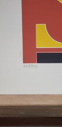 rubem valentim - emblema - serigrafia