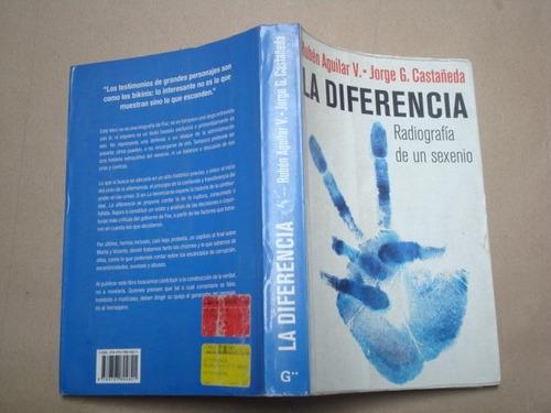 rubén aguilar v. y otros, la diferencia, méxico, 2007, 388 p