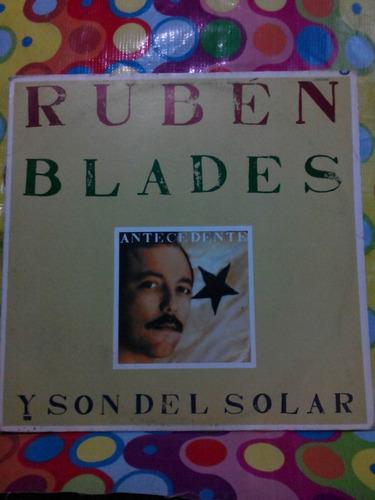 ruben blades lp y son del solar 1988