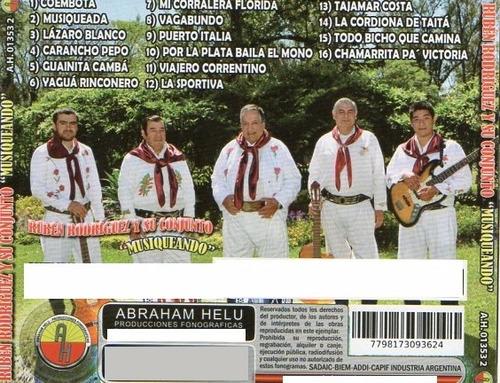 rúben rodriguez - coembota - cd nuevo enselofanado 2017