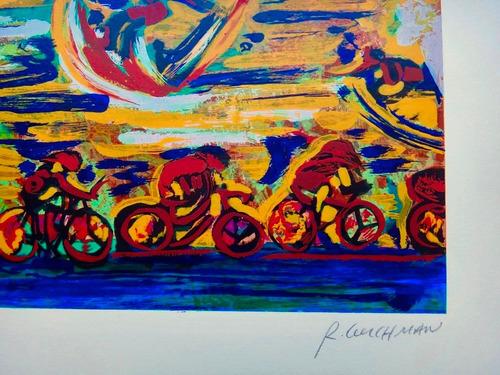 rubens gerchman - ipanema - linda serigrafia assinada