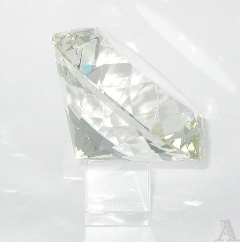 Rubí Diamante De Cristal Pisapapeles En Forma - $ 769.00 en Mercado ...