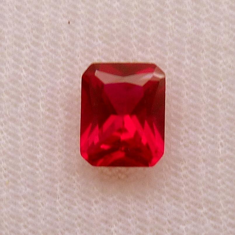 52ea36dfdb7 rubi pedra preciosa preço 1 gema 10x8 mm retângulo 3165 · rubi pedra  preciosa. Carregando zoom.