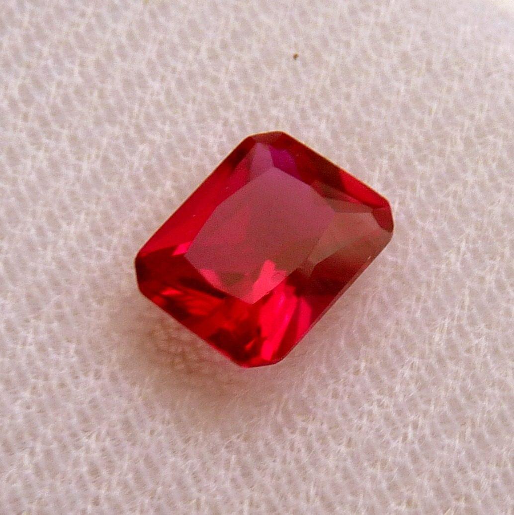 c754093c0a1 rubi pedra preciosa preço 1 gema 10x8 mm retângulo 3165. Carregando zoom.