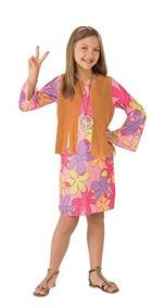 5c03b0032 Rubie's Costume Sunshine Hippie Value Disfraz Para Niño,