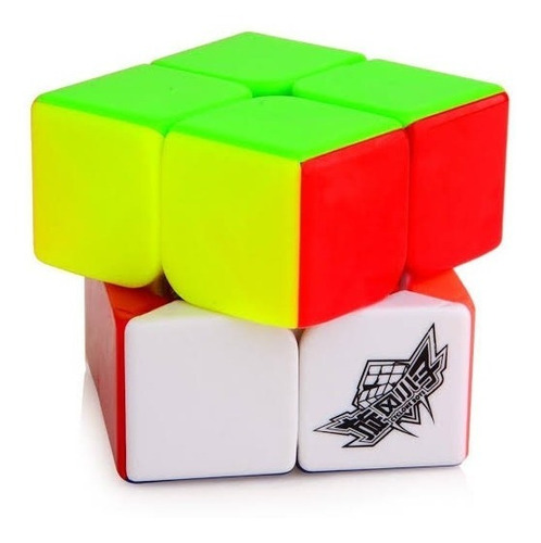 rubik cubo magico cyclone boys 2x2 full color juguete speed