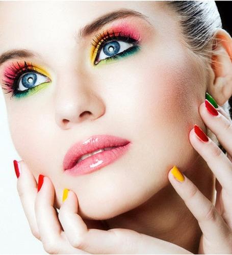 rubor blush dior maquillaje profesional + labial + envío g