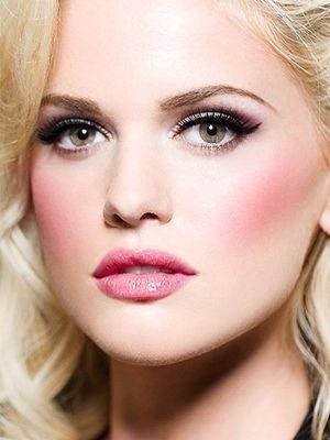 rubor maquillaje profesional luminys guerniss + envio