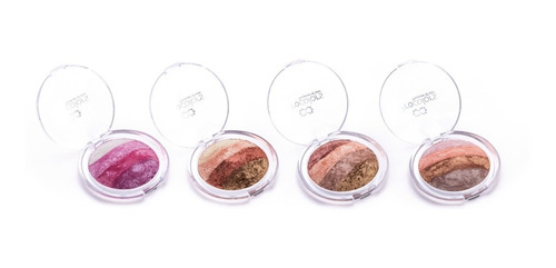 rubor procolors baked powder maquillaje profesional - 5 en 1