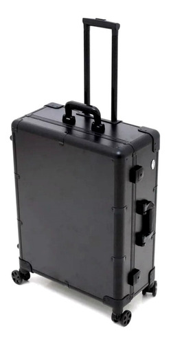 rubys maleta camarim preta c/ led e bluetooth fs1313-1