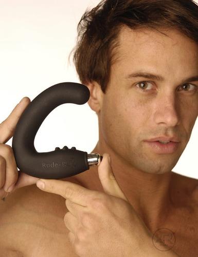 rude boy y bad boy  estimulador de próstata con vibración