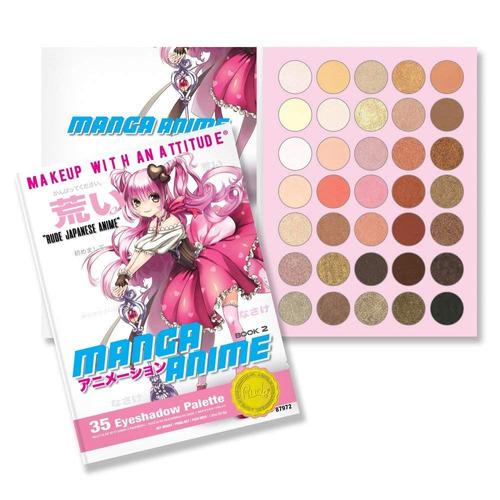 rude manga anime eyeshadow palette libro 2