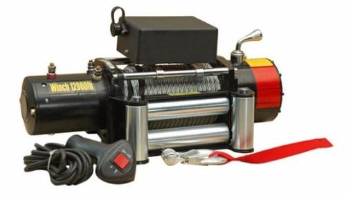 rude winch ld12000 nuevo 12000 libras 12v electrico 4x4