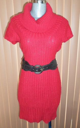 rue 21  vestido tejido de punto talla grande acrilico / lana