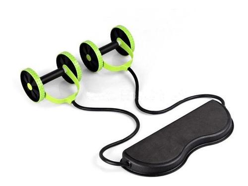 rueda abdominal bandas elásticas ab roller aparato para abdo