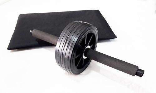 rueda abdominal + minicolchoneta ejercicio abdominales