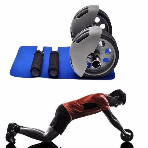 rueda abdominales poderosos power stretch