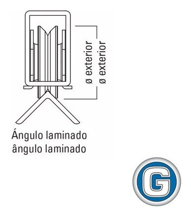 rueda acero porton corredizo v 100 mm c/ soporte gramabi