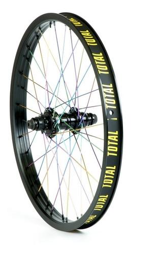 rueda bmx total techfire trasera - luis spitale bikes