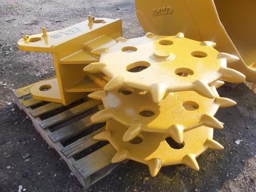 rueda compactadora para excavadora