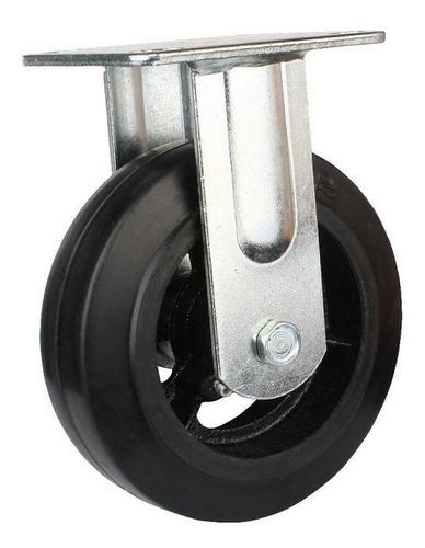 rueda con base fija reforzada 100mm código 151