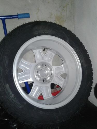 rueda con llanta  rodado 15 pulgadas-205-60 para eco sport