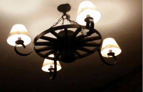 rueda de 4 luces