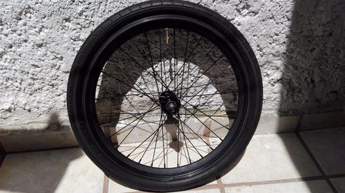 rueda de bicicleta tipo mini velo r20, delantero