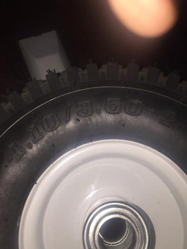 rueda de carretilla  10  4 lonas ((50 psi)) sin tripa a1