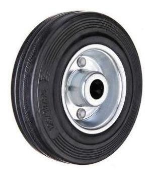 rueda de goma aguja con ruleman 75mm código 183
