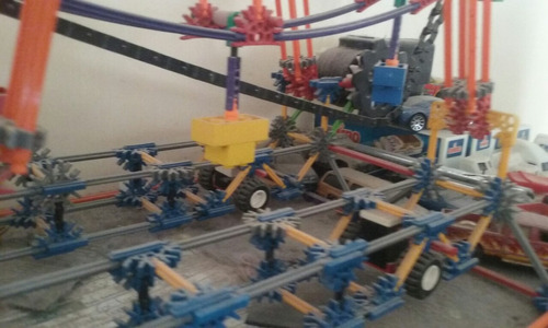 rueda de la fortuna k'nex  más de 500 piezas