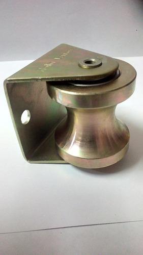 rueda de porton 2 pulgadas para tubo de 1 1/2