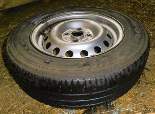 rueda de repuesto chevrolet spark gt año 2010-2015
