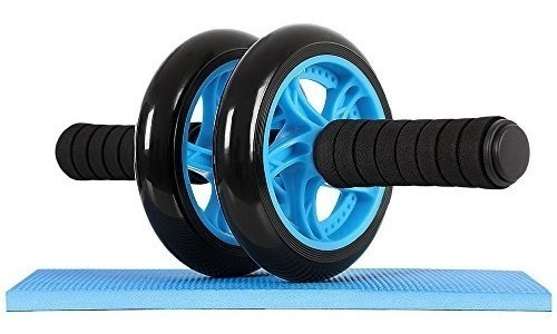 rueda ejercicios abdominal + mini alfombra