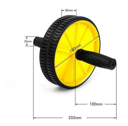 rueda ejercicios abdominales + colchoneta rodilla