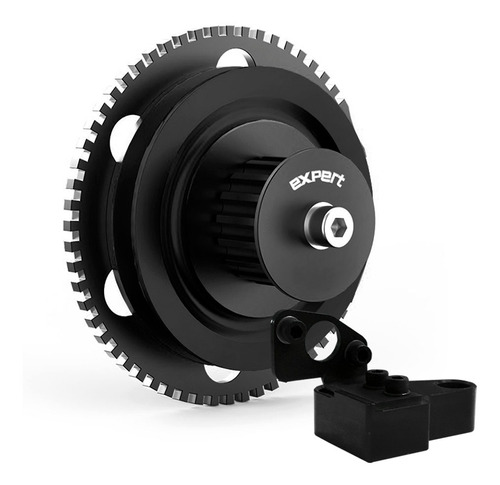 rueda fónica + polea de bomba aceite vw ap 16v negro expert