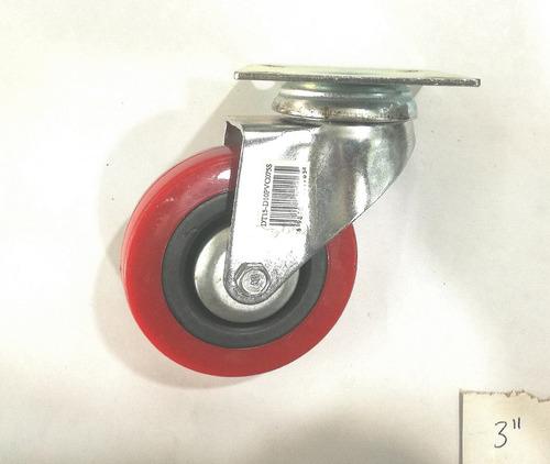 rueda giratoria de 2  para carritos de metal y carruchas