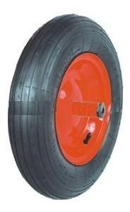 rueda inflable 14 x 3.5 pulgadas eje 12mm pasante cód pr1402