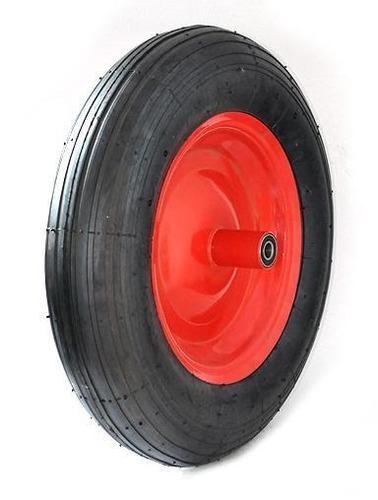 rueda inflable con buje 16 x 4 pulgada eje12mm código pr1622