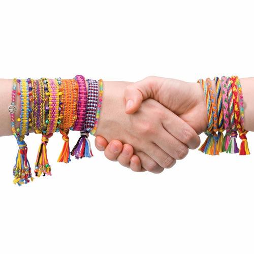 rueda kumihimo para tejer pulseras manualidades para niñas