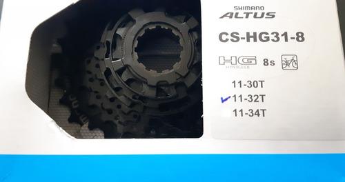 rueda libre cs-hg31, 8 vel. 11-32