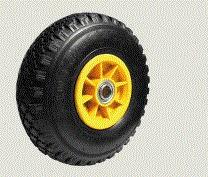 rueda llanta plastica neumatica ideal zorra-carro- kayak