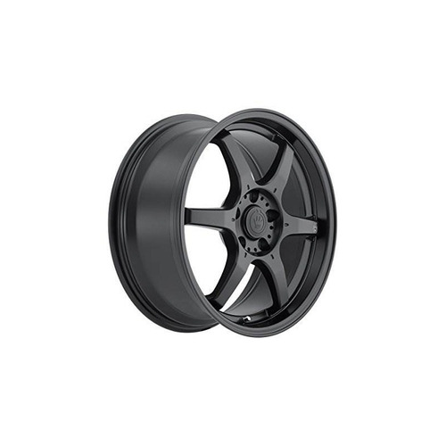 rueda mecanizada en negro konig (16x7 / 4x100mm)