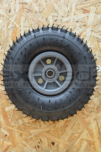 rueda neumatica para carro diametro 4.10-3.50-4 6 telas