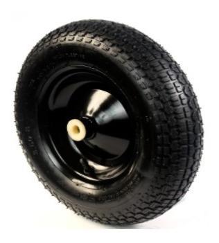 rueda neumatica reforzada kushiro 16 pulgadas carretillas
