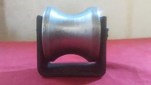 rueda o roldana para porton tubo de 1 1/2redondo