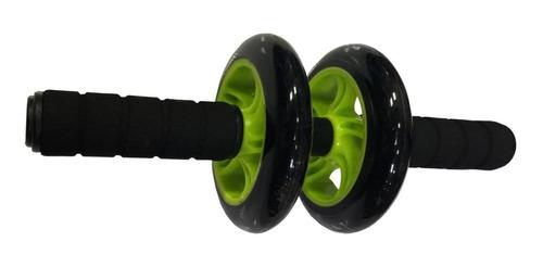 rueda para abdominales doble cintura glúteos antideslizante