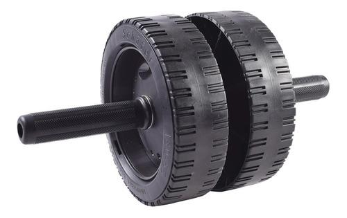 rueda para abdominales doble super reforzada pesas sol