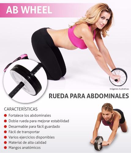 rueda para abdominales gym, fitness,entrenamiento