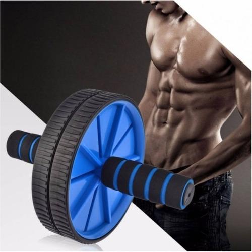 rueda para abdominales + mini colchoneta